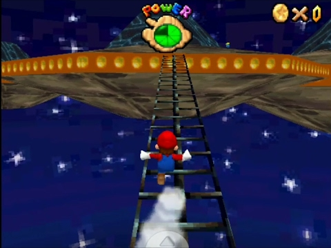 Super Mario 64 DS Custom level - Out in space
