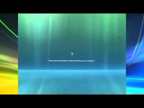 Installing Windows Vista Home Premium