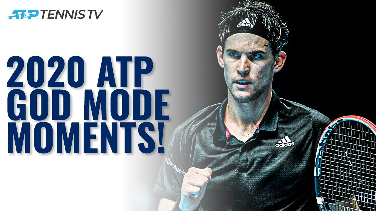 When ATP Tennis Players went GOD MODE in 2020!