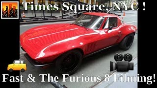 Fast & Furious 8 Filming In NYC | Times Square | July 9th, 2016