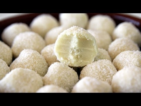 White Chocolate Coconut Truffles Recipe - CookingWithAlia - Episode 290