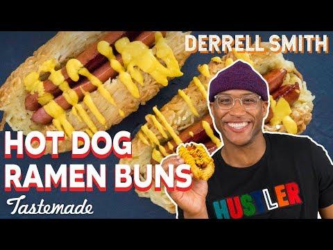 Hot Dog Ramen Buns I Derrell Smith