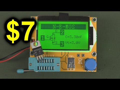 EEVblog #1020 - Is A $7 LCR / Component Tester Any Good?