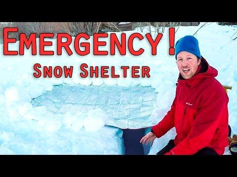 Emergency Snow Shelter