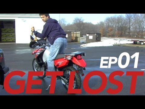THE BEGINNING | GET LOST Ep1. | A Solo Motorcycle Adventure to the Darien Gap