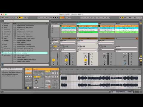 Changing A Track Key in An Ableton Live Session
