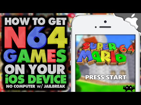 RetroArch: How To Get N64 Games on your iOS 9 Device! (JAILBREAK) (NO COMPUTER) iPhone iPad iPod