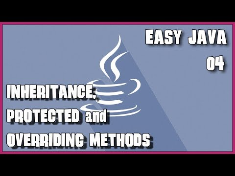 EASY JAVA 04 Inheritance and overriding methods exercise