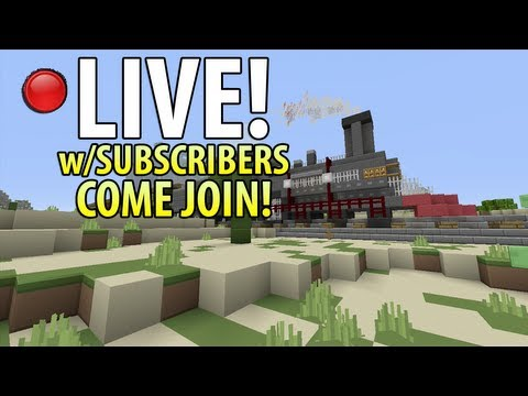 LIVE! - Minecraft (Xbox 360) - Hunger Games w/Subscribers Come Join! #8