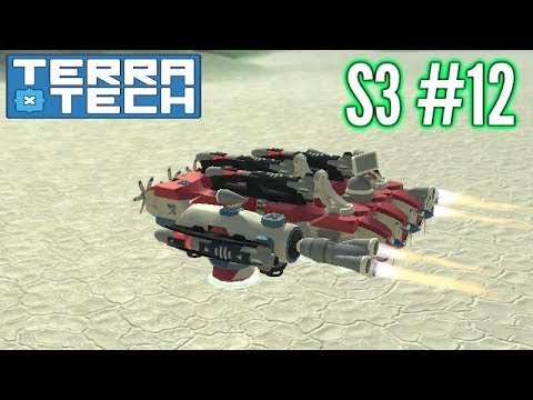Terratech | Ep12 S3 | Venture Attack Hovercraft!! | Terratech v0.7.8.1 Gameplay