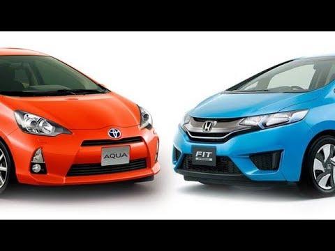 Honda Fit Hybrid and Toyota Aqua Ground Clearance Comparison