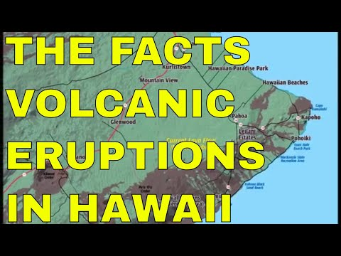 THE TRUTH BEHIND THE VOLCANIC ERUPTIONS IN HAWAII