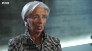 DAVOS Lagarde gives her view on Brexit and the UK