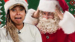 People Read Creepy Christmas Lyrics