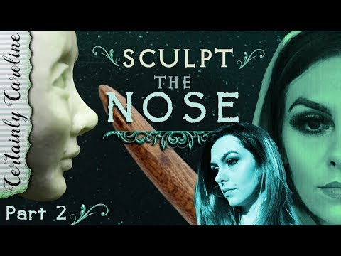 How to Sculpt the Nose, Doll Portrait Sculpting P2: How to Sculpt the Face Starting with the Nose