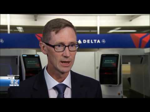 Delta Airlines Intro High Tech Boarding Pass