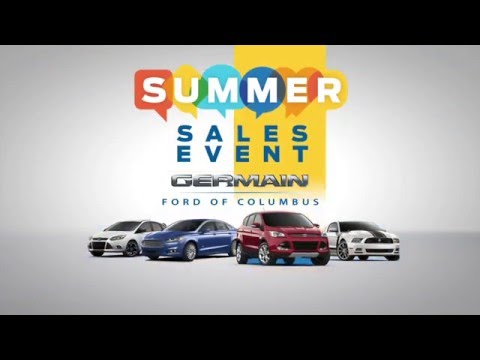 Retail: Germain Ford - Summer Sales Event