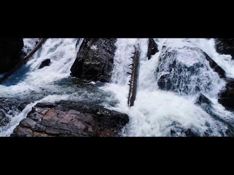 Lake Tahoe Waterfalls Aerial Footage - Phantom 4 Pro drone footage 4k