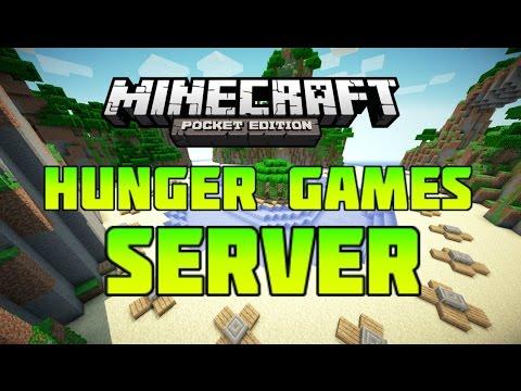 Hunger Games Server! - Minecraft PE!