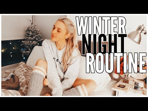 Winter Night Routine | Kalyn Nicholson