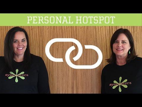 iPhone / iPad - Personal Hotspot