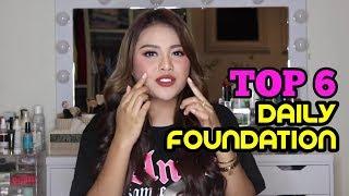 Top 6 Daily Foundation Ala Aurel | Dari Murah Sampai Mehong!
