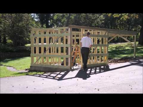 Nininger Bluffs Observatory Build
