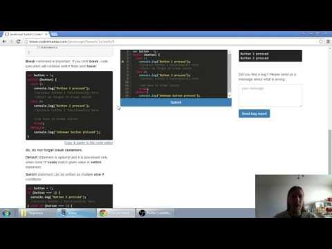Web developerská škola, časť 23: JavaScript - Switch