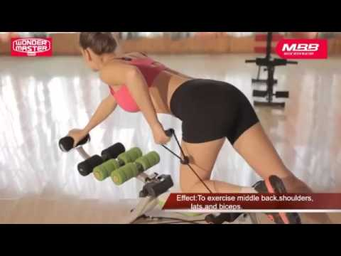 22 in 1 MASTER BLASTER Tutorial ABS Six Packs Care