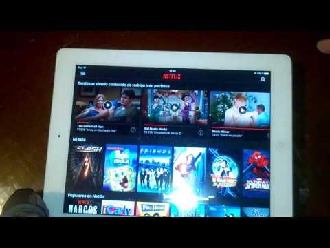 Cómo Descargar Películas de NetFlix | iPad Fácil