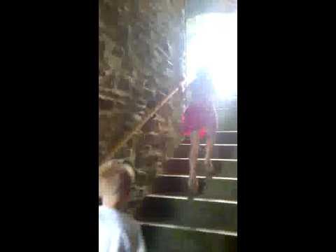 A trip up Castle hill huddersfield