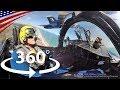もの凄い360度VRコックピット映像 - アクロバット飛行チーム・ブルーエンジェルス