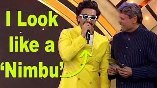 Ranveer Singh Makes Fun of Himself As Kapil Dev Gives Him An Award