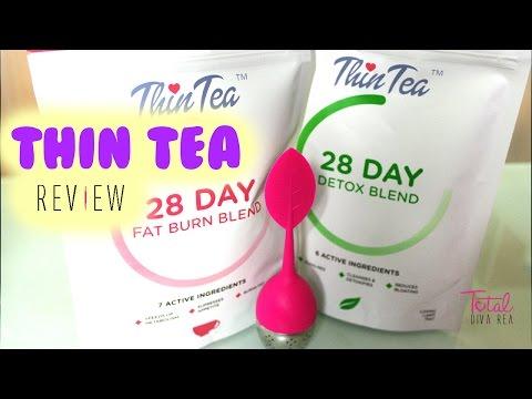 Thin Tea Detox Review l TotalDivaRea