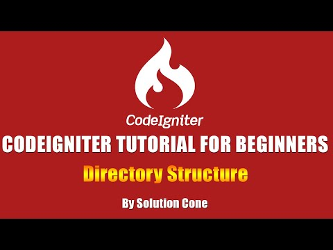Codeigniter Tutorial for Beginners Step by Step | Codeigniter Directory Structure