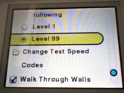 Pokemon Platinum Action Replay Walkthrough - Part 1