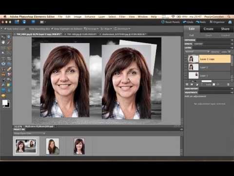 NL Photoshop Elements: Collages Maken