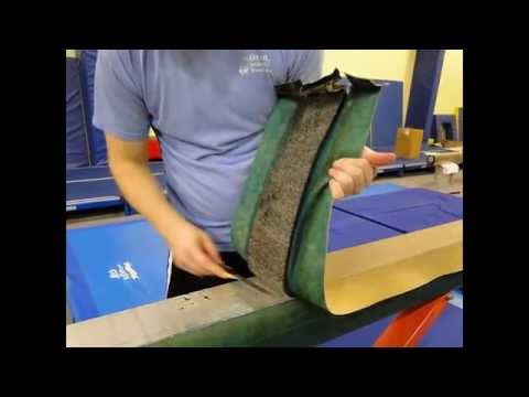 SA(Spieth Anderson) Sport DIY balance beam recovery by Orange Athletic Products LLC