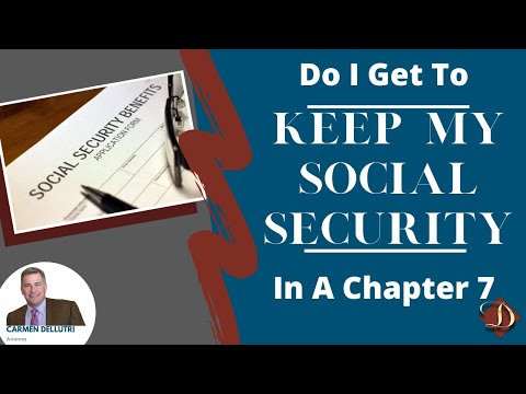 Chapter 7 Bankruptcy and Social Security