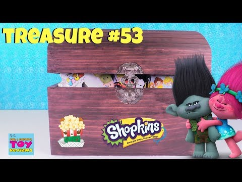 Simons Blind Bag Treasure Chest Unboxing #53 Roblox Hatchimals Disney MLP Trolls | PSToyReviews