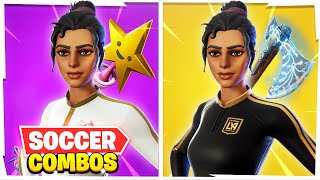 5 SWEATIEST Soccer Skin (Kickoff) Combos In Fortnite! (PROS Use These Combos)