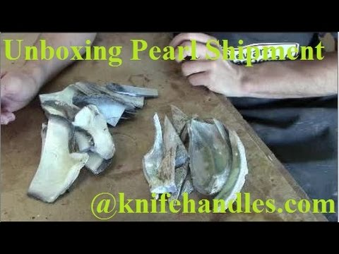 Unboxing A Pearl Shipment
