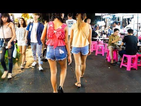 Khaosan Road after Midnight - Bangkok, Thailand