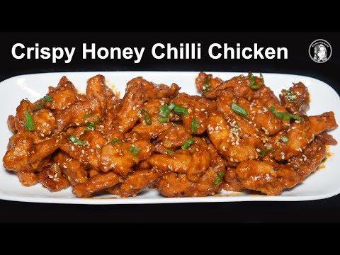 Crispy Honey Chili Chicken Recipe by Kitchen With Amna