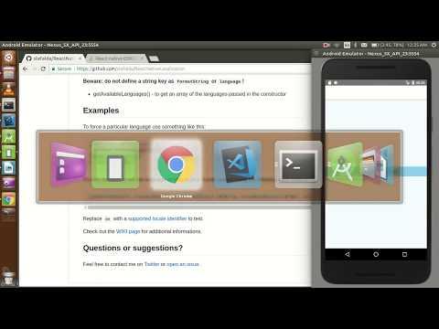 React-Native tutorial # 30 localization | change language of application