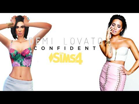 CREANDO SIMS | Demi Lovato CONFIDENT | Los Sims 4