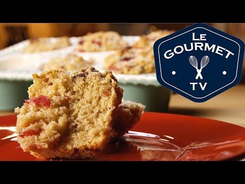 Spiced Orange Cranberry Muffin Recipe || Le Gourmet TV Recipes