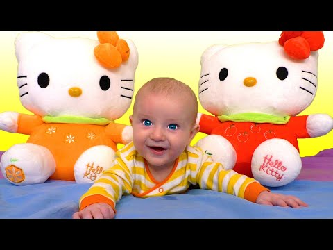 The Three Little Kittens Nursery Rhyme Song by Katya and Dima