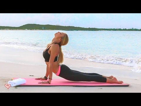 Stress Relief Yoga ♥ A Relaxed & Calming Flow To Clear Your Mind