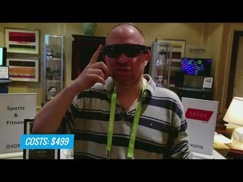 Bike to the Future: Solos Smart Cycling Glasses Use AR